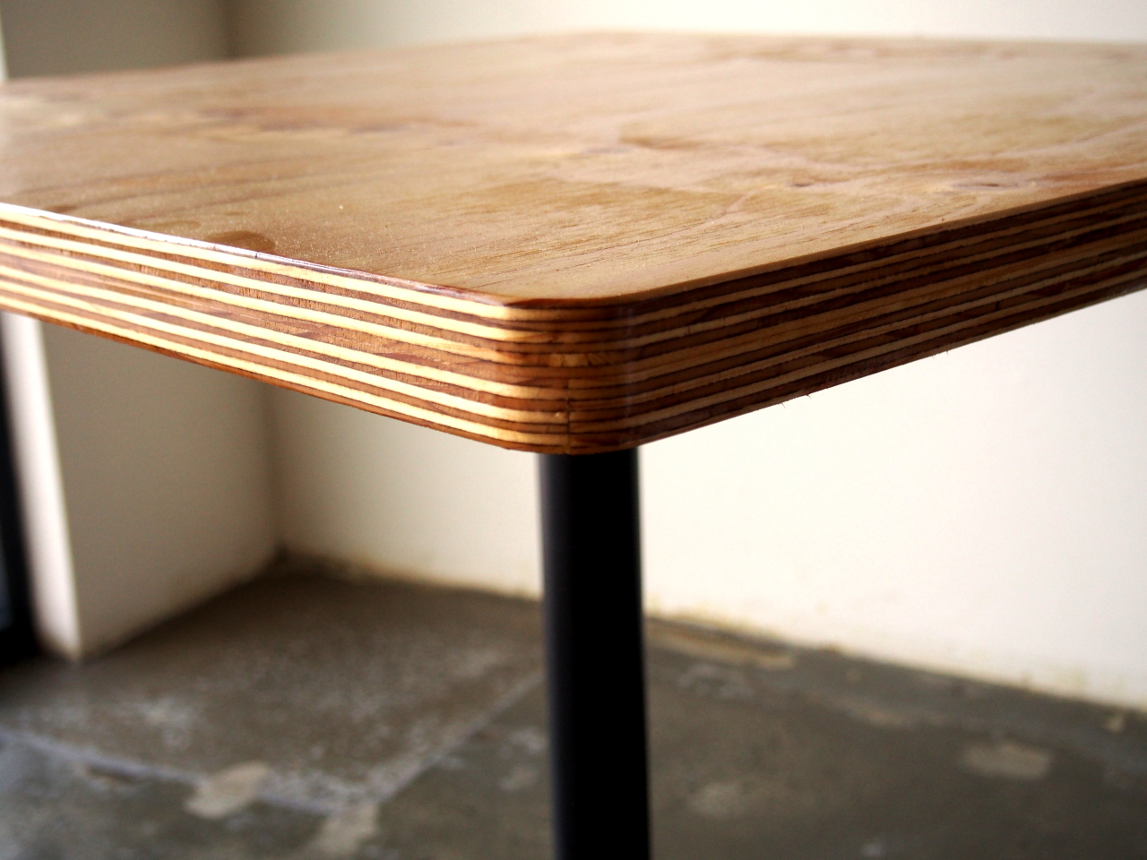 Plywood Cafe Table Gerry Kho Products